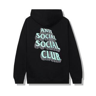 アンチ(ANTI)のANTI SOCIAL SOCIAL CLUB ASSC パーカー ブラック(パーカー)