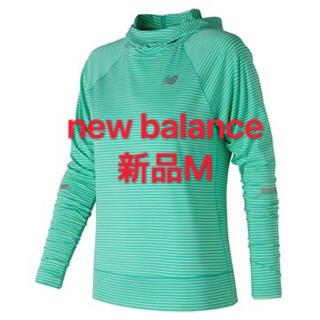 New Balance - 新品M newbalance ニューバランス シーズンレスロングスリーブフーディ