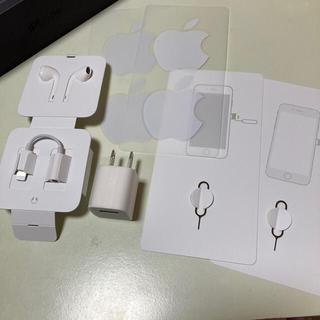 Apple - iPhone イヤホン 電源プラグ ステッカー