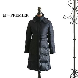 エムプルミエ(M-premier)のM-PREMIER エムプルミエ ダウンコート ブラック レディース コート(ダウンコート)