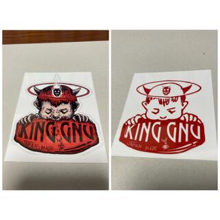 King Gnu キングヌー ヌーミレパーク ステッカー シール(しおり/ステッカー)