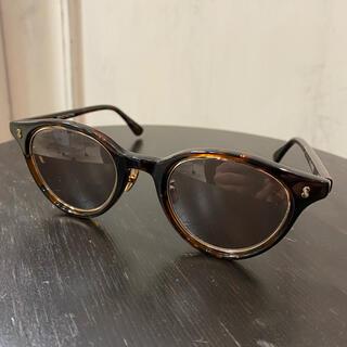 ソフ(SOPH)のSOPH SUNGLASSES BROWN 金子眼鏡製 おまけ付き❗️(サングラス/メガネ)