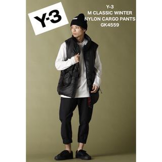 ワイスリー(Y-3)の【新品】Y-3 ナイロンカーゴパンツ ワイスリー ワークパンツ Sサイズ(ワークパンツ/カーゴパンツ)