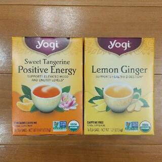 ヨギティー(ポジティブエナジー&レモンジンジャー)各1箱(茶)
