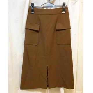 オペークドットクリップ(OPAQUE.CLIP)の古着 スカート 膝丈スカート ワールド タイトスカート(ひざ丈スカート)