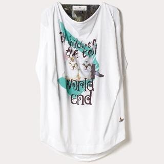 ヴィヴィアンウエストウッド(Vivienne Westwood)の新品・Albert squareCat T-shirt(Tシャツ(半袖/袖なし))