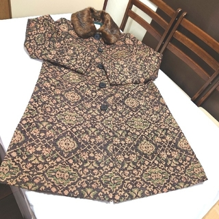 グラスライン(Glass Line)のGlassLine コート 9号レディース ジャガー織りコート レディースコート(その他)