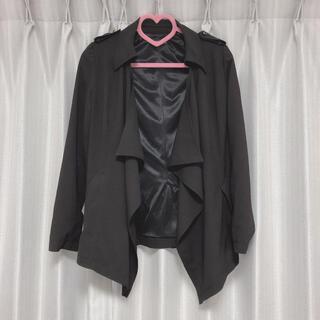 シマムラ(しまむら)のsorridere 黒 ジャケット 羽織り ボレロ 上着 しまむら avail(その他)