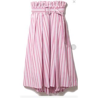 ドロシーズ(DRWCYS)のドロシーズ   ストライプ ロング スカート サイズ1(ロングスカート)