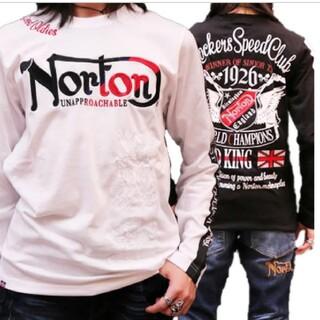 ノートン(Norton)のSALE!!6990円→5490円新品 NORTONノートンMAXロンT(Tシャツ/カットソー(七分/長袖))