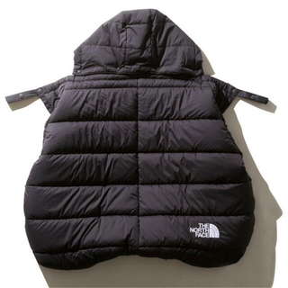 THE NORTH FACE - THE NORTH FACE SHELL BLANKET BABY ブラック