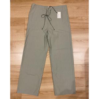 COMOLI - AURALEE / WASHED FINX TWILL WIDE PANTS