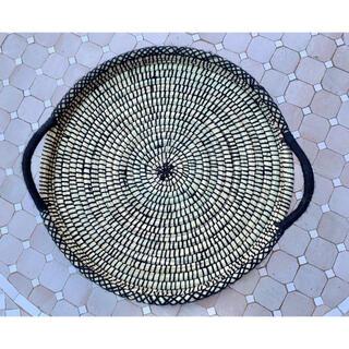 アクタス(ACTUS)のモロッコ トレー おぼん 大 かご 雑貨(バスケット/かご)