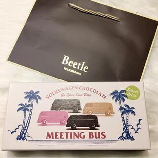 モロゾフ(モロゾフ)のモロゾフビートル ミーティングバス ミニカー付き チョコレート バレンタイン(菓子/デザート)