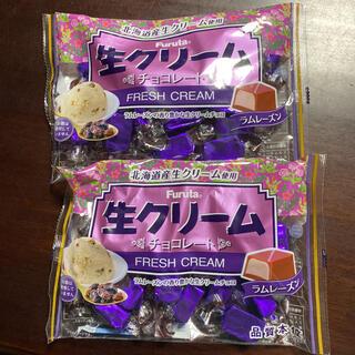 フルタセイカ(フルタ製菓)のフルタ 生クリームチョコレート ラムレーズン ×2(菓子/デザート)
