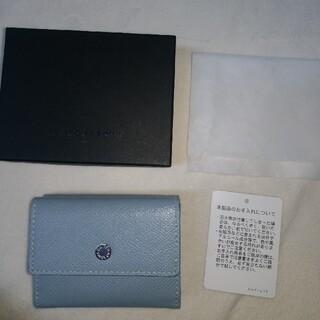 ユナイテッドアローズ(UNITED ARROWS)のUBCB ミニウォレット UNITED ARROWS ライトブルー 三つ折り財布(財布)