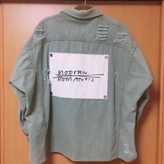 damage shirt(シャツ/ブラウス(長袖/七分))