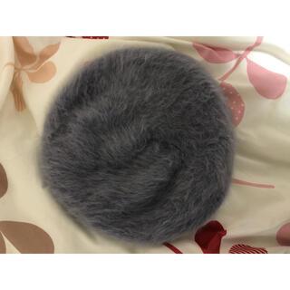 グローバルワーク(GLOBAL WORK)のベレー帽 灰色(ハンチング/ベレー帽)