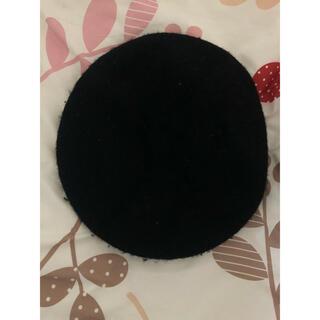 ジーユー(GU)の黒 ベレー帽(ハンチング/ベレー帽)