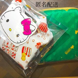 ロゴス(LOGOS)のSALE★キティ☆エコバッグ&保冷トート2個セット(エコバッグ)