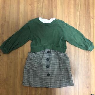 プティマイン(petit main)のプティマイン ドッキングスカート(ワンピース)