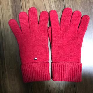 トミー(TOMMY)のトミー 赤のニット手袋(手袋)