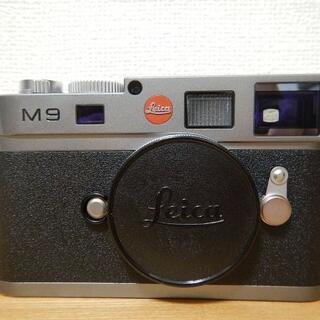 LEICA - 【 CCDセンサー 交換済】Leica ライカ M9 スチールグレー