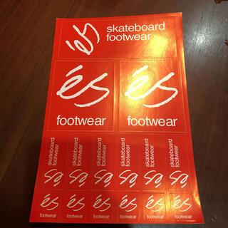 エメリカ(Emerica)のes footwear ステッカー シール スケボー スノボー sk8(スケートボード)