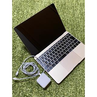 マック(Mac (Apple))のMacBook 12inch 2016 512GB 8GB m5(ノートPC)
