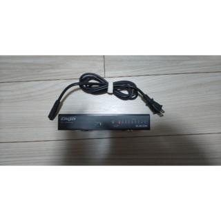 エレコム(ELECOM)のEHC-G08MN-HJB【1000BASE-T対応 スイッチングハブ】(PC周辺機器)