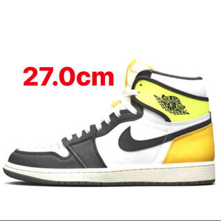 ナイキ(NIKE)のNIKE AIR JORDAN 1 HIGH OG VOLT GOLD 27cm(スニーカー)