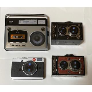 カルディ(KALDI)のカルディ カメラ缶セット(菓子/デザート)
