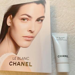 シャネル(CHANEL)のシャネル ルブラン 美容液セラム 新品 新製品(美容液)