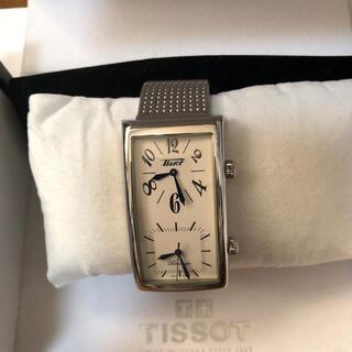 ティソ(TISSOT)のティソ 腕時計 メンズ ユニセックス バナナウォッチ デュアルタイム シルバー(腕時計(アナログ))