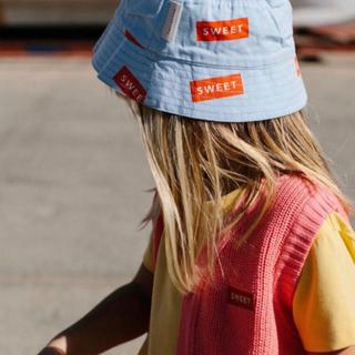 ボボチョース(bobo chose)のtinycottons sweet ハット 帽子 新品 19SS(帽子)