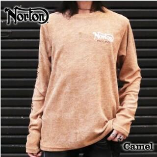 ノートン(Norton)のSALE!! 7990円→5490円新品NORTONノートンポリグレーダーロンT(Tシャツ/カットソー(七分/長袖))