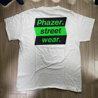 限定 phazer box logo tee white L (Tシャツ/カットソー(半袖/袖なし))