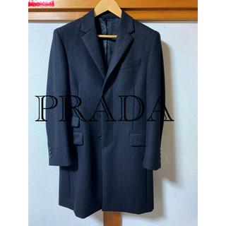 プラダ(PRADA)のPRADA 14aw チェスターコート(チェスターコート)