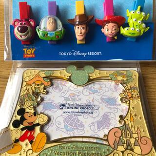 ディズニー(Disney)の ディズニー 写真立て クリップセット(その他)