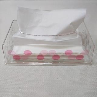 ペーパータオルケース アクリル製 ペーパータオルのおまけ付き♪(その他)