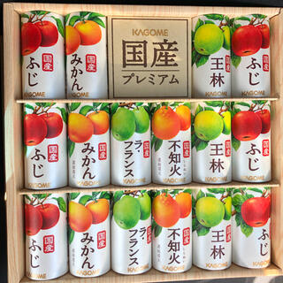 KAGOME カゴメ   国産プレミアム フルーツジュース 16本