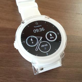 グーグル(Google)のTicwatch E ホワイト Wear OS by Google搭載!(腕時計(デジタル))