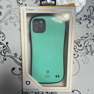 ハイミー(HIMMY)のiFace Hamee IFACE iPhone 11 promax ミント(iPhoneケース)