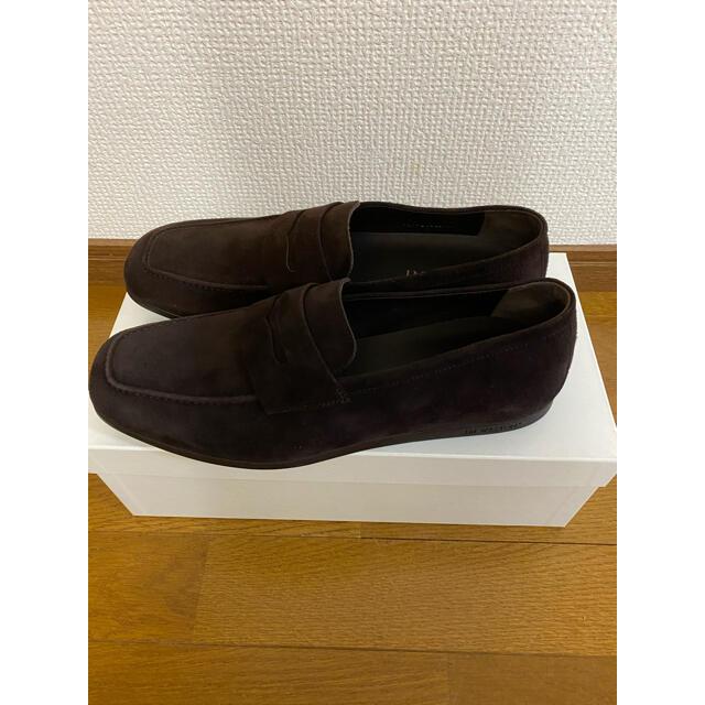 J.M. WESTON(ジェーエムウエストン)のJ.M. WESTON ローファー ブラウンスエード jm weston 621 メンズの靴/シューズ(スリッポン/モカシン)の商品写真