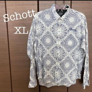 ショット(schott)の美品 / Schott ペイズリー シャツ(シャツ)