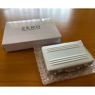 ゼロハリバートン(ZERO HALLIBURTON)のZero Halliburton アタッシェケース型カードケース(名刺入れ/定期入れ)