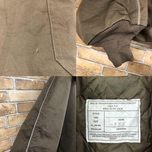 schott(ショット)の☆ショット☆USA製 中綿ハーフジッププルオーバー ブラウン ジャケット メンズのジャケット/アウター(その他)の商品写真