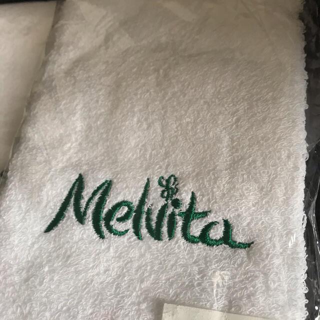 Melvita(メルヴィータ)の【新品未開封】Melvita ハンドタオル 5枚セット インテリア/住まい/日用品の日用品/生活雑貨/旅行(タオル/バス用品)の商品写真