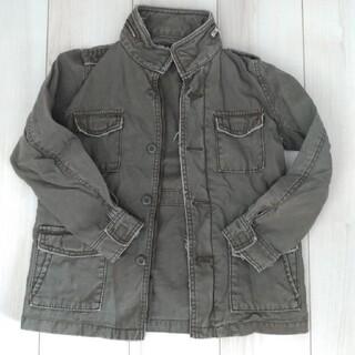 イッカ(ikka)のikka ミリタリージャケット サイズ140(ジャケット/上着)