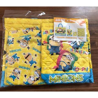 新品 ミニオン レッスンバッグ シューズ袋 巾着(レッスンバッグ)